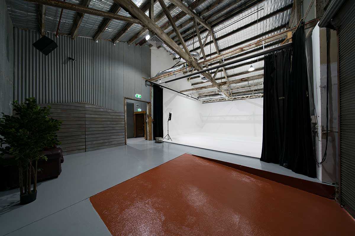 Sydney Props Photo Studio - Studio 2 White Cyc - Loading Dock