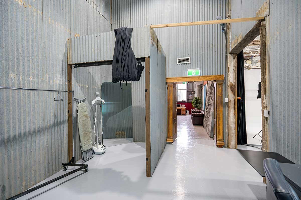 Sydney Props Photo Studio - Studio 2 White Cyc - Change Rooms