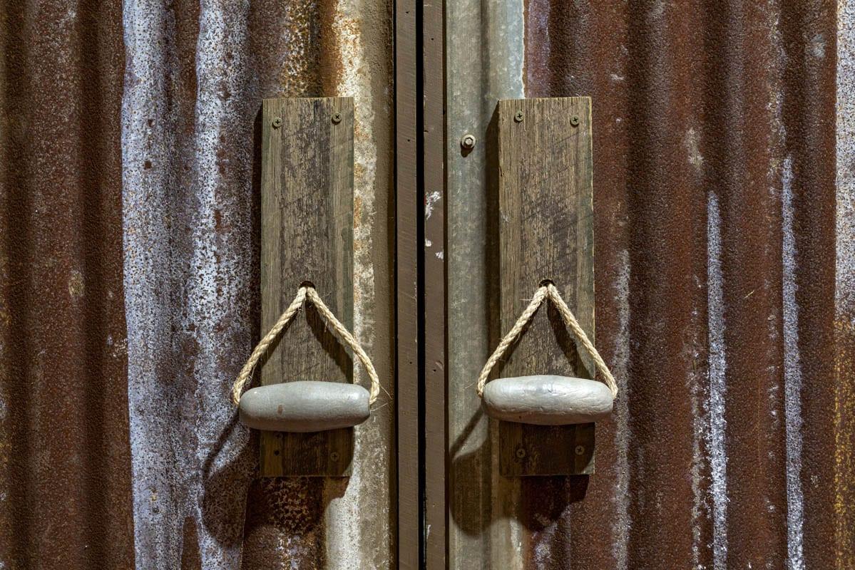 Sydney Props Photo Studio - Studio 3 Pipeline - Set Finished Entrance Doors