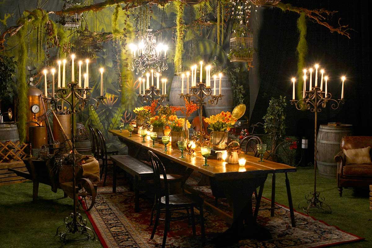 Sydney Props Photo Studios - Access to Props - Rustic Banquet