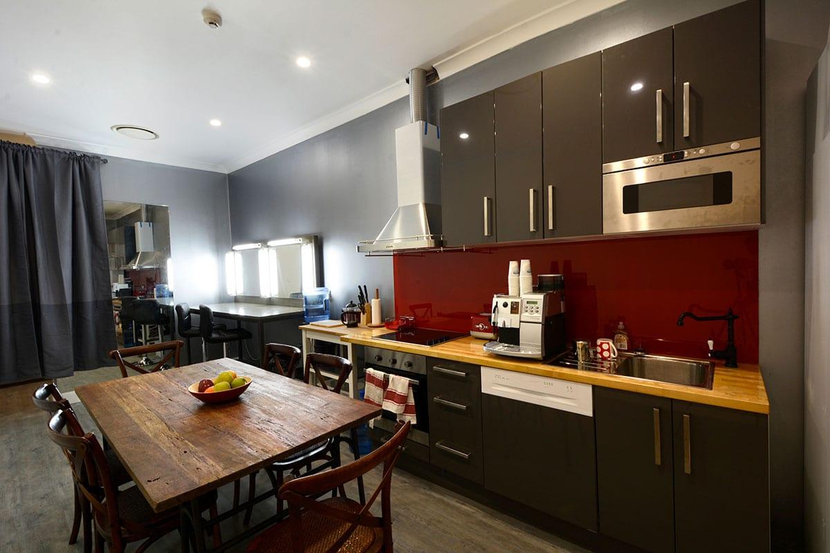 Sydney Props Photo Studio - Studio 4 TV Production - Kitchen Area