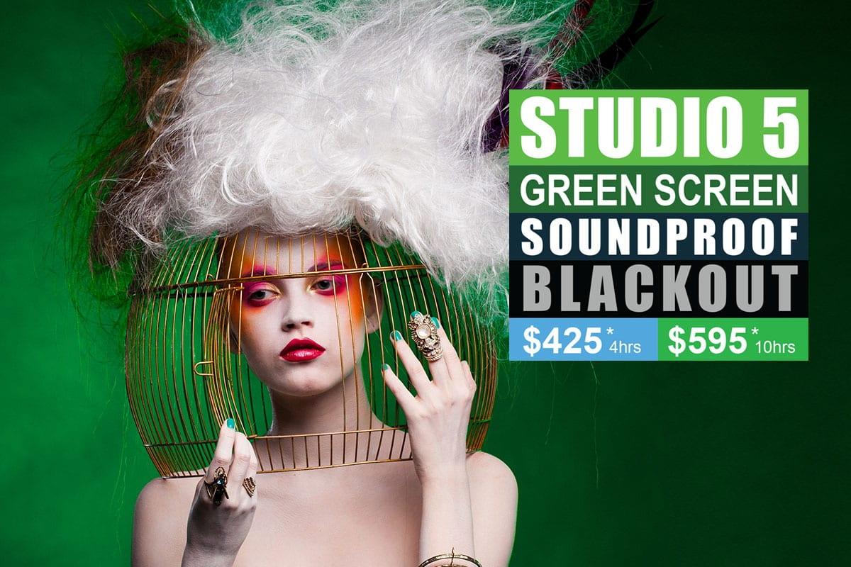 Sydney Props Photo Studio - Studio 5 Green Screen