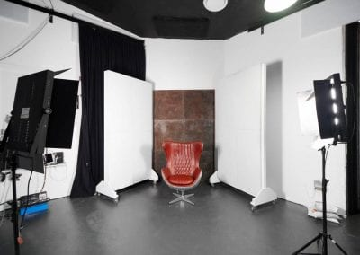 Studio 4 - Area for interview