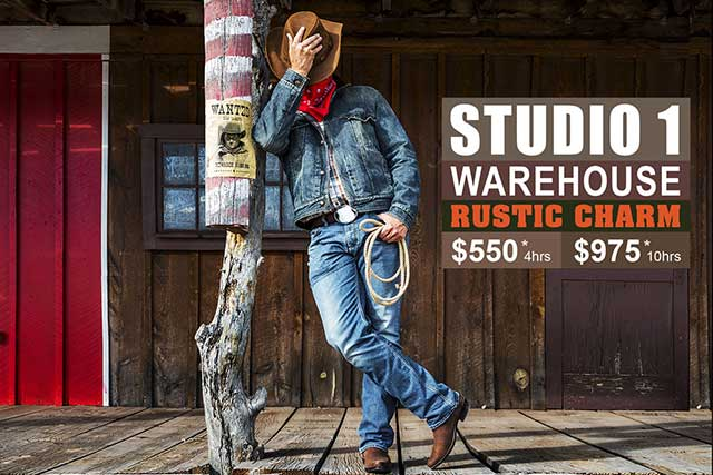 Studio 1 Warehouse Photographic Studio Hire in Sydney