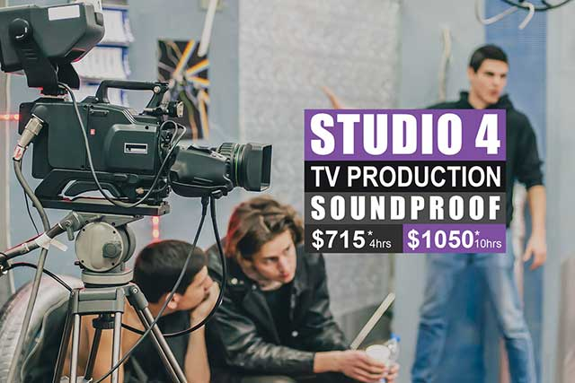 Sydney Props Photo Studios - Studio 4 TV Production
