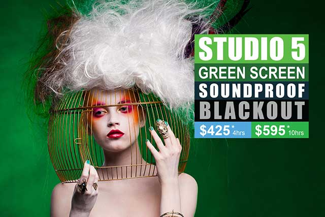 Sydney Props Photo Studios - Studio 5 Green Screen