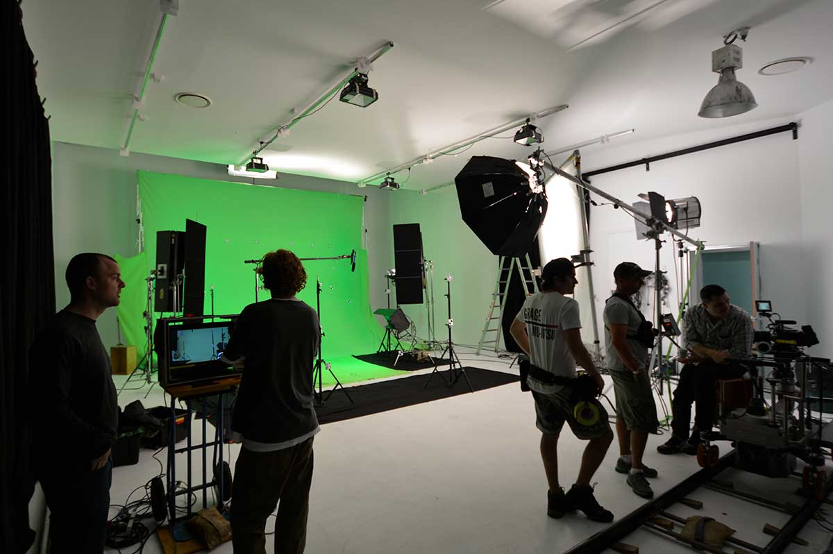 Studio 4 TV Production Photographic Studio Hire in Sydney