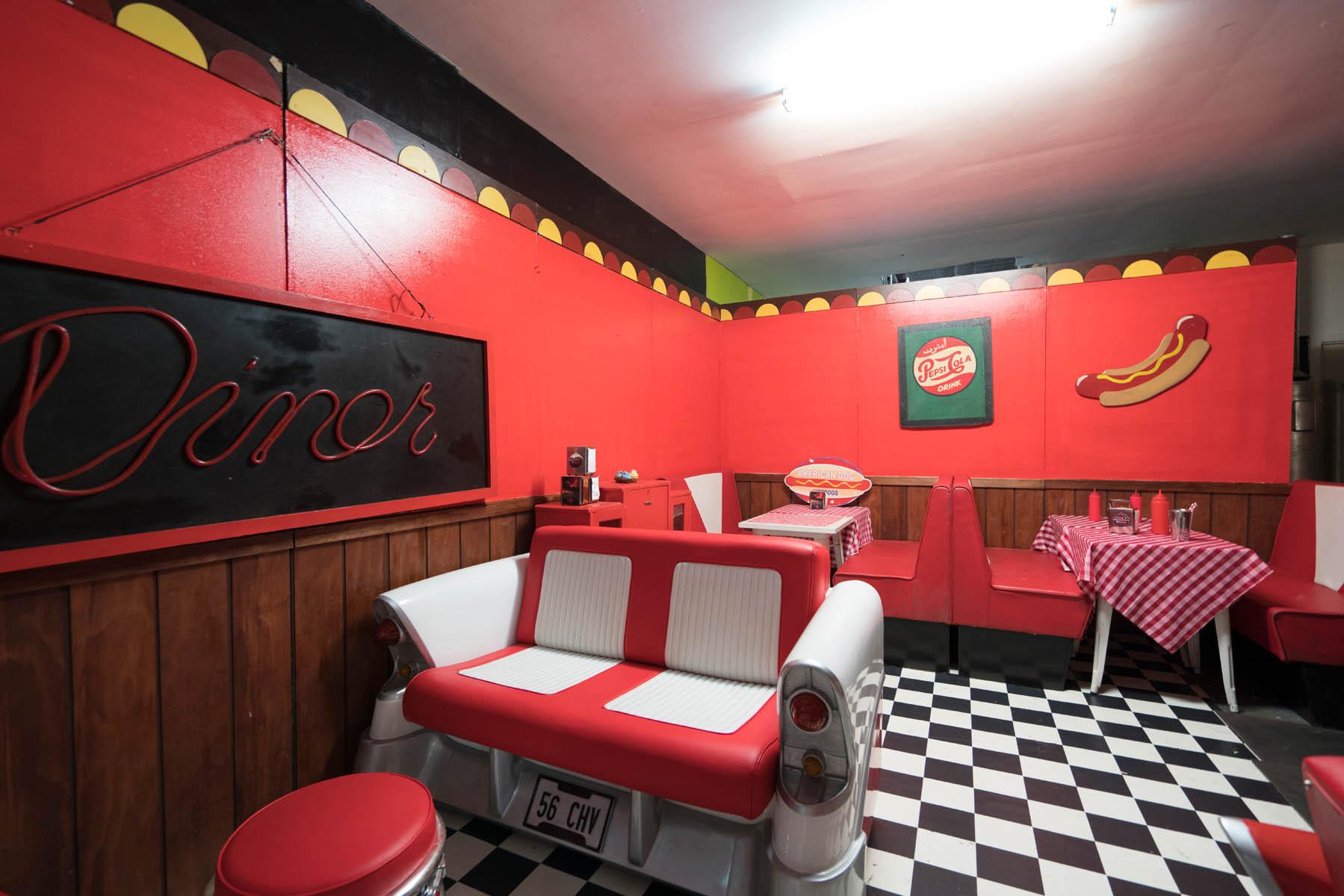 Sydney Props Photo Studios - Studio 7 Retro Props Sets - Wash Room