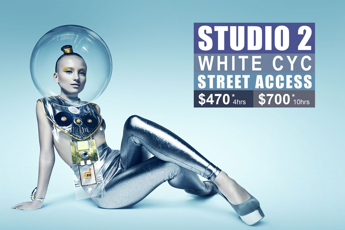 Studio 2 White Cyc