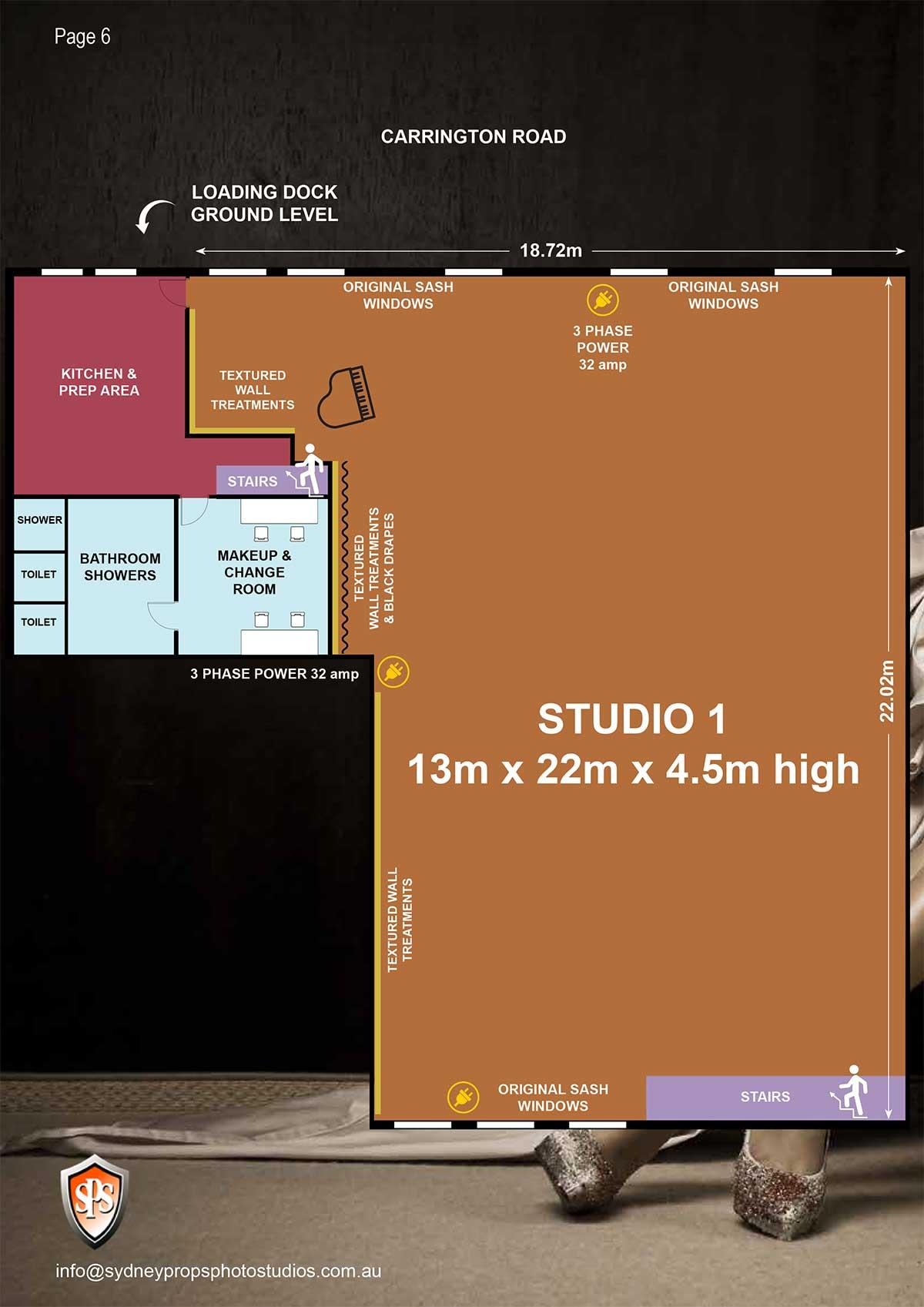 Studio 1 Floor Plan