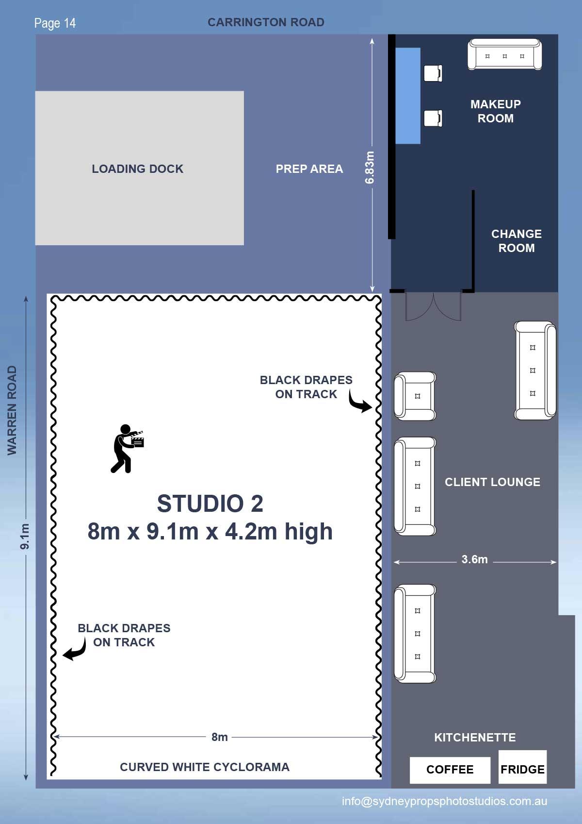 Studio 2 Floor Plan