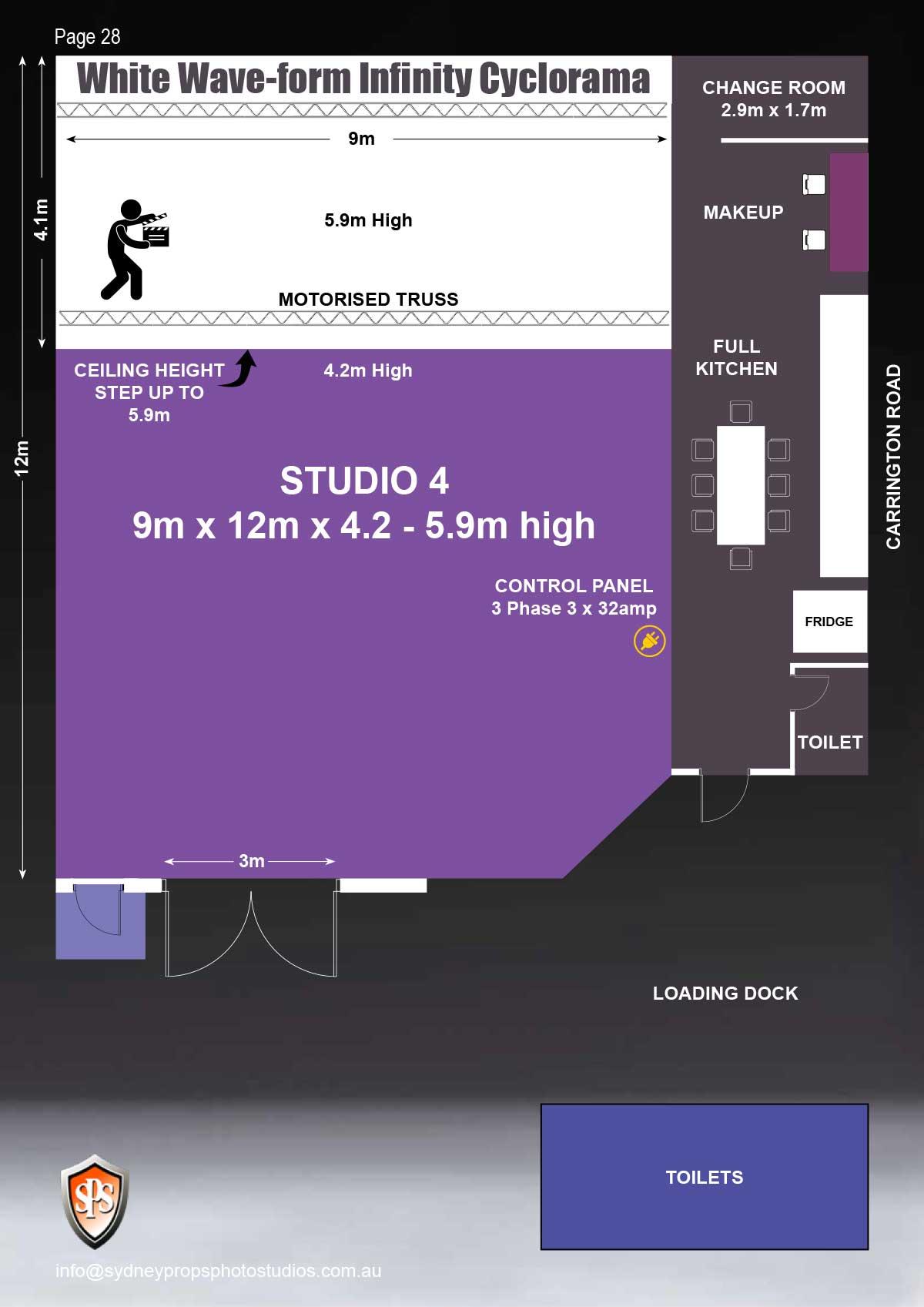 Studio 4 Floor Plan