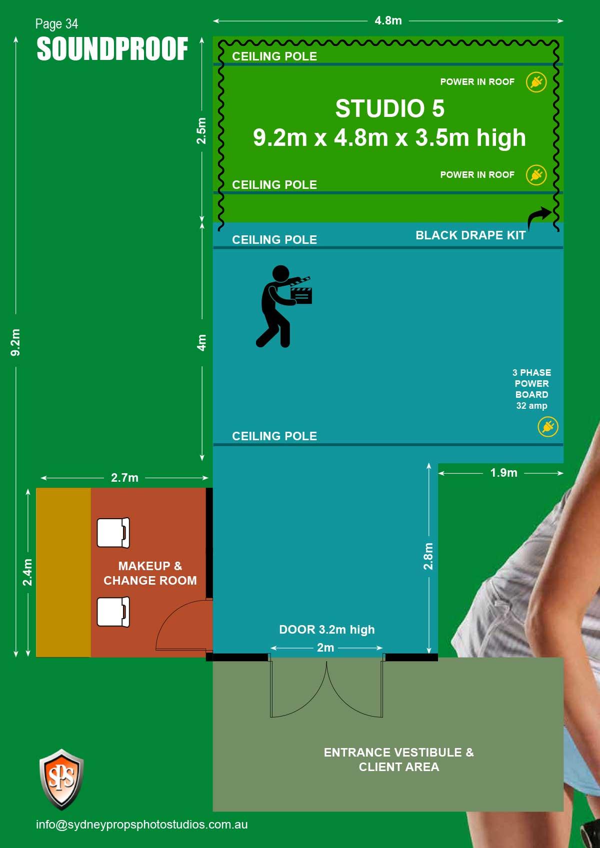 Studio 5 Floor Plan