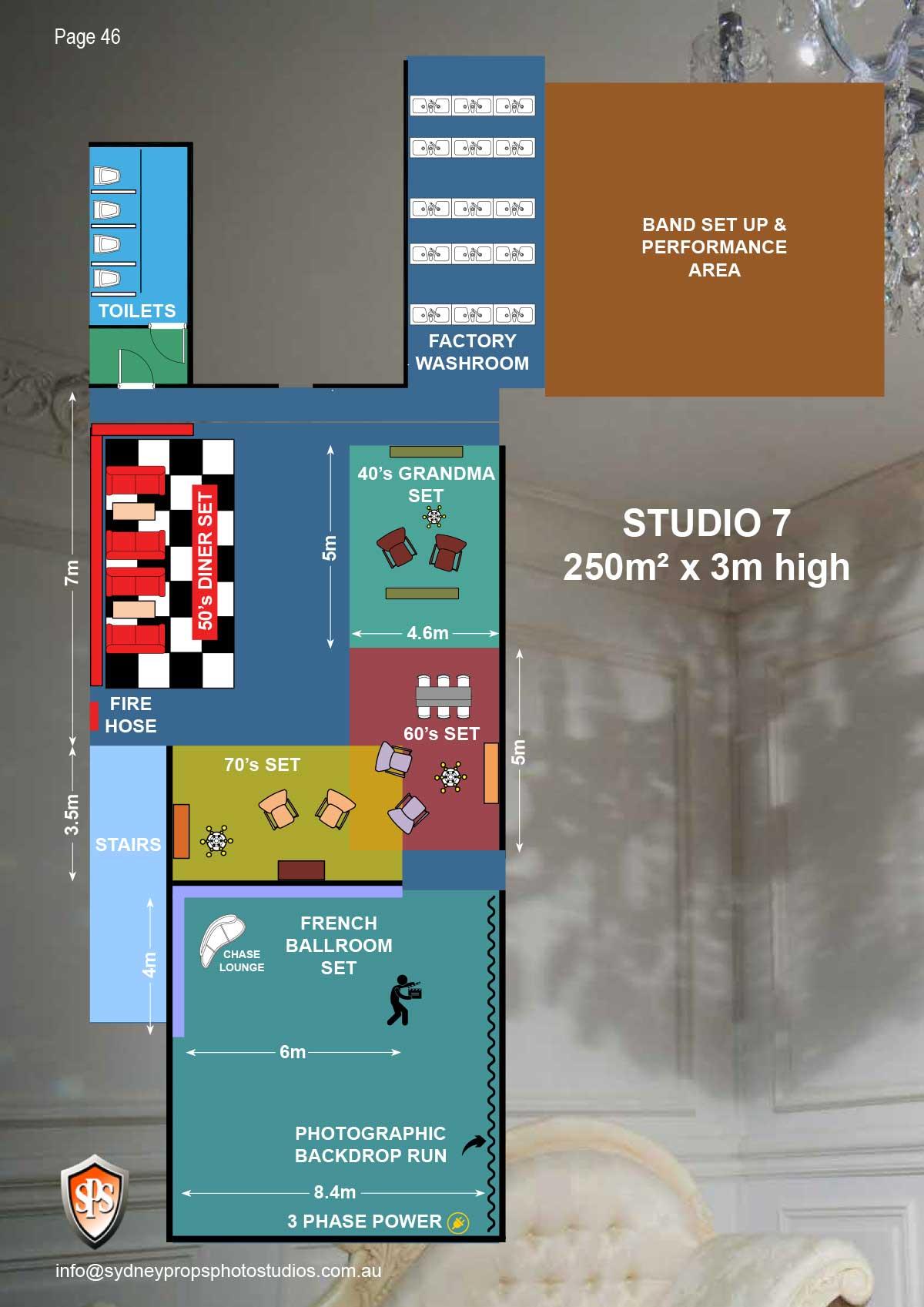 Studio 7 Floor Plan